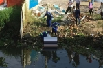 Nam thanh niên chết trôi trên sông Sài Gòn