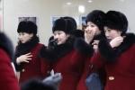 Ngất ngây trước nhan sắc của đoàn mỹ nữ Triều Tiên vừa tới Hàn Quốc