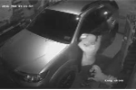 'Đạo chích' bẻ trộm gương xe nhanh như chớp