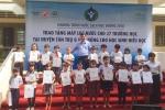 27 trường học tại tỉnh Long An được trang bị hàng trăm máy lọc nước mới