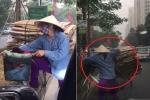 Clip tài xế ô tô ngăn phụ nữ nhặt ve chai đi ngược chiều gây tranh cãi