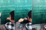 Clip: Cậu bé bấm tay tính nhẩm như thần đồng và cái kết 'té ngửa'