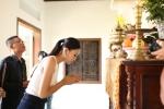 Hoa hau Tran Tieu Vy ve que nha Quang Nam, rang ro trong vong tay bo me hinh anh 5