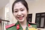 Nữ thủ khoa xinh đẹp được vinh danh trong lễ tốt nghiệp trường Cao đẳng Cảnh sát nhân dân I