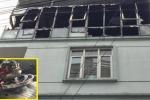 Trường mầm non ở Hà Nội bốc cháy giữa trưa, cô trò hoảng loạn tháo chạy