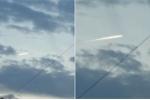 Clip vật thể bí ẩn cháy sáng, bay qua bầu trời Nhật Bản sau động đất