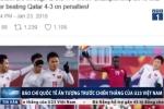 Báo chí quốc tế ca ngợi 'tinh thần bất diệt' của U23 Việt Nam