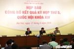 Tổng Thư ký Quốc hội: Đang tích cực hoàn thiện Luật Biểu tình