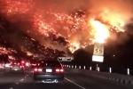 Video: Cháy rừng khủng khiếp như tận thế ở Los Angeles