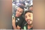 Cầu thủ Brazil quay clip ngồi trên máy bay trước khi gặp nạn ở Colombia