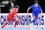 Trực tiếp bán kết Futsal Đông Nam Á 2017: Thái Lan vs Myanmar