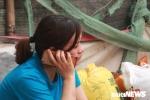 Cháy chợ ở Hà Nội: Tiểu thương khóc nức nở 'cháy hết rồi, bao nhiêu vốn liếng ra đi hết rồi'