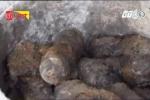 Đào móng, tá hỏa phát hiện kho đạn M79 hàng trăm viên dưới nền nhà