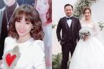 Hari Won gửi lời chúc đến Tiến Đạt: 'Hạnh phúc mãi nha anh'