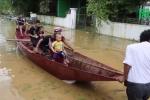 Trời không mưa,  hàng trăm hộ dân ở Nghệ An vẫn ngập sâu hơn 1m