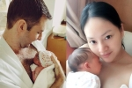 Lan Phương viết nhật kí sau sinh, kể chuyện chồng bật khóc khi gặp con
