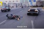 Video: Lamborghini Huracan đâm xe máy ở vận tốc 160 km/h