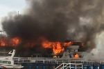 Tàu lai dắt phát nổ, 4 công nhân nhập viện cấp cứu