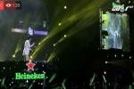 Video trực tiếp Heineken Countdown 2018 ở Hà Nội: Không khí tưng bừng đón giao thừa