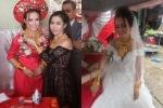 5 đám cưới gây 'loá mắt' khi có cô dâu, chú rể đeo vàng kín cổ