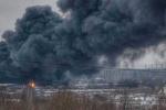 Cháy chợ khủng khiếp gần Matxcơva
