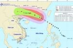 Bão số 2 tăng cấp liên tục, giật cấp 16 trên Biển Đông