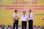Dai hoc Thai Nguyen co giam doc moi hinh anh 1
