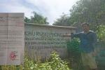 Doanh nghiệp tư nhân tàn phá rừng đầu nguồn trồng cam: Tỉnh Hòa Bình đang làm rõ