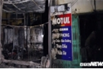 Ảnh: Hiện trường vụ cháy trong đêm thiêu rụi 2 ngôi nhà trên phố Hà Nội