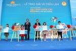 Lễ trao giải và triển lãm mỹ thuật cuộc thi 'Sải cánh vươn cao' năm 2018 dành cho học sinh Tiểu học thành phố Hà Nội