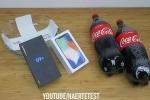 Xem màn tra tấn Galaxy S9 Plus và iPhone X: Ngâm Coca-Cola, đóng băng trong 24 giờ