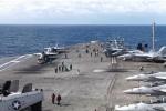 Đoàn tàu sân bay Mỹ sẽ tập trận ở Thái Bình Dương trong thời gian ông Trump đến Việt Nam