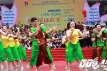 Sinh viên An ninh trình diễn trong mưa, giành giải Nhất 'Liên hoan dân vũ quốc tế 2016'