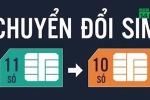 Thuê bao 11 số chuyển sang 10 số từ 15/9: Những thông tin cần biết