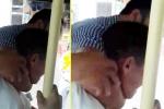Đình chỉ nhân viên soát vé xe buýt kẹp cổ hành khách
