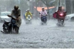 Tin mới nhất bão số 2: Miền Bắc mưa lớn trên diện rộng