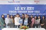 Trường Cao đẳng Quốc tế BTEC FPT hợp tác với Tuyensinh247.com