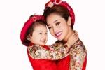 Mang thai 4 tháng, Jennifer Phạm vẫn xinh đẹp rạng ngời bên con gái