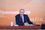 Ông Putin đưa quyết định bất ngờ việc tranh cử Tổng thống Nga 2018