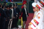 Video: Em gái ông Kim theo sát, tất bật lo cho anh trai trong chuyến công du Việt Nam