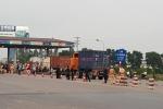 Trả tiền lẻ qua trạm BOT quốc lộ 5: Điều tra người kích động gây rối