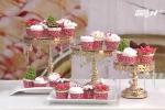 Cách làm cupcake đẹp long lanh, ngon ngất ngây mùa Giáng sinh