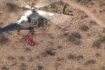 Clip: Trực thăng gặp trục trặc, cuộc giải cứu cụ bà hóa thảm họa