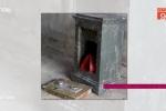 Truy tìm tên trộm đục két sắt giữa nghĩa trang lấy 25 lượng vàng