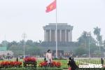 Ảnh: Đường phố Hà Nội rợp cờ hoa trước thềm Hội nghị thượng đỉnh Mỹ - Triều