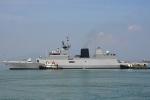 Những hình ảnh đầu tiên của tàu Hải quân Ấn Độ vừa cập cảng Đà Nẵng