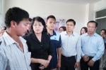 Cháy chung cư Carina TP.HCM 13 người chết: Phó Chủ tịch nước thăm hỏi gia đình các nạn nhân