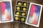 Hoa đắt gấp đôi, socola hộp iPhone X cháy hàng dịp Valentine