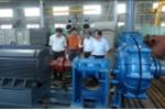 Việt Nam chế tạo thành công máy bơm thải xỉ chịu mài mòn cao