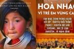 VTC truyền hình trực tiếp chương trình hòa nhạc đặc biệt vì trẻ em vùng cao